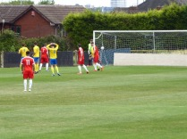 Tividale put early pressure on the Wood.