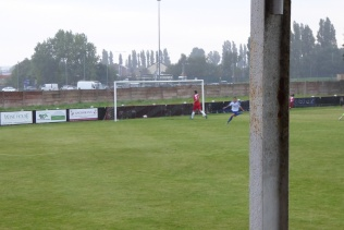 The second, and well deserved goal to Coleshill. Come on the Wood!