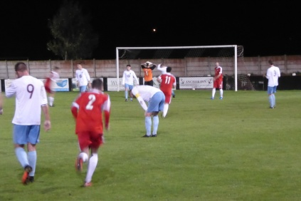 Second half goal to the Wood and Westfield goalkeeper turns away
