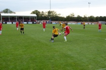 Some fine individual tussles and off-the ball running made this match captivating