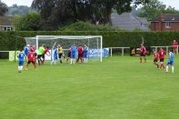 Final flurry as Wood pull out all the stops to get that equaliser, but AFC defend well.
