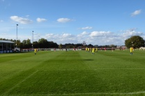 A beautiful sunny afternoon heralded some colourful soccer
