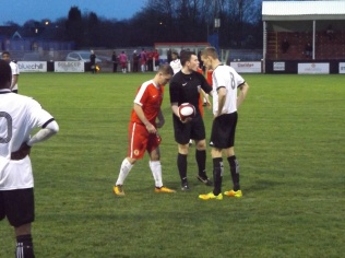 Lots of rivalry self evident , yet several brief examples of sporting play in today's encounter