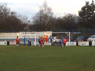 Fine goalkeeping, as the Wood dazzle and bamboozle in equal measure. Bostin!