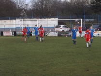 Second goal to the Wood in the second half, and a cracking series of fine moves to build up to this shot.