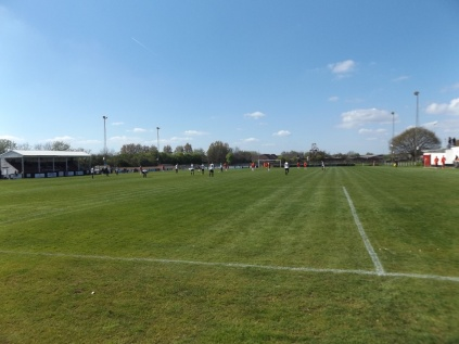 End to end captivating soccer today. The sun shone, and so did Heanor