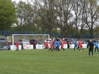 Second half Tipton pressure brings excellent goalkeeping.