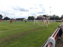 C:\Users\David Evans\Pictures\wwfc vs atherstone 4-1 2017-08-26\DSCF9923.JPG ….and its Atherstone's turn to celebrate ,near their travelling fans. Game on!