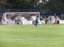 Another goal for the Wood who worm their way through leaving the goalkeeper prostrate and perplexed.
