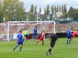 Pershore mount an attacking move on the Wood's goal. The game ain't over yet, then!