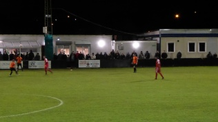 A goodly number of fans of both clubs appreciated this evening's positive sporting soccer and welcoming clubhouse lubricants