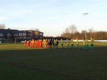Bolehall played in their home strip of green and yellow.