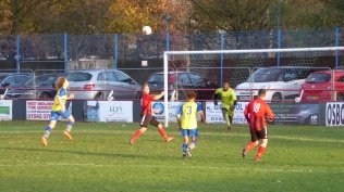 First half response by Pelsall as Moors react. Super soccer to spectate