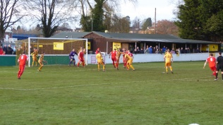 A frequently quarrelsome contest with Stourport players trying every, erm, ploy to gain a decision. That other side of soccer where a more positive control earlier in the game would have improved the spectacle for all the spectators.