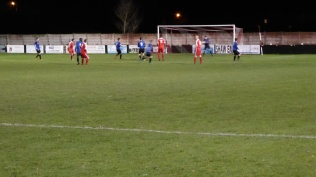 Second half and the Wood, now two goals up, begin to dominate even more as their confidence shows.