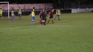 Elation and celebration moment after scoring that precious, hard-worked, equalising goal.